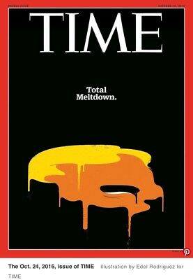 Rare TIME Magazine, Donald Trump Total Meltdown, Double Issue, Oct 24 2016