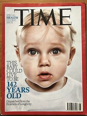 Rare TIME Magazine, Double: Live 142 Year Old, Royals Charles Sons: Harry, Will
