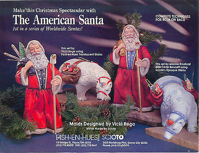 Scioto The American Santa(s) using Fash-En-Hues Technique Sheet