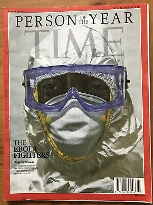 Rare TIME Magazine 2014, Double Issue: PERSON OF THE YEAR, The Ebola Fighters
