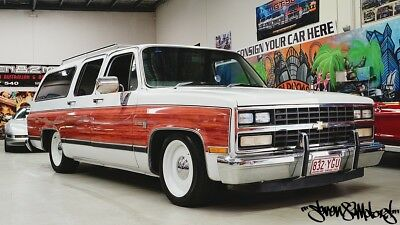 Chevy Suburban Silverado RHD 9 seater C10 pick up wagon Suit Ford F150 C20