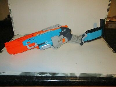 Nerf Rare Zombie Strike Sledgefire Fully Loaded With 1 Shell