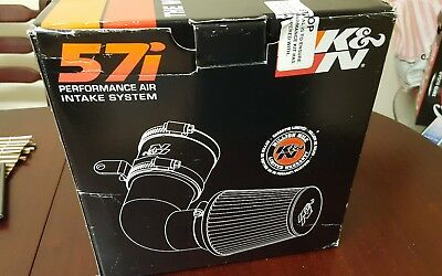 K&N 57i Performance Air Filter Induction Kit / Intake Kit - 57-0648-1