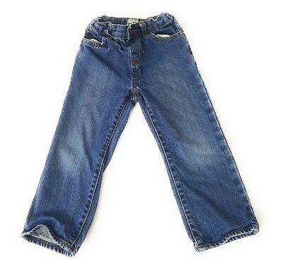 Childrens Place Boys 3T Jeans Toddler Denim Blue Jean Zip Fly Belt Loop Waist