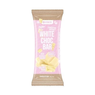 Vitawerx White Chocolate Gluten Free and Keto Friendly 12 in each box!