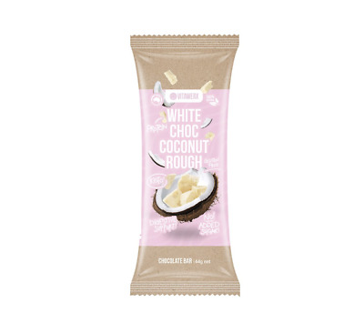 White Chocolate Coconut Rough Gluten Free Bars 35 grams (12 in a box)