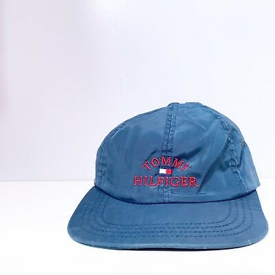 b1e02c8d8 VINTAGE TOMMY HILFIGER Hat Rare Very Nice Small Imperfections Tan ...