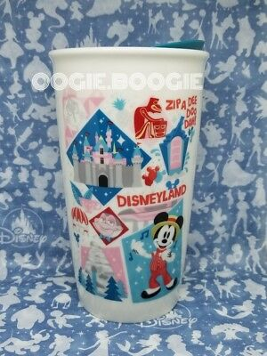 Disney Parks & Disneyland Starbucks Attractions and Icons Tumbler TO GO Mug