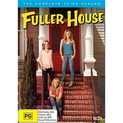 BRAND NEW Fuller House : Season 3 (DVD, 2019, 2-Disc Set) *PREORDER R4