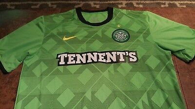 fe7c53119 Nike Authentic The Celtic Football Club Soccer Football Jersey Mens Size  Large