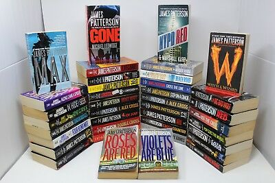 Lot of 10 of James Patterson - Paperback - Unsorted/Mix