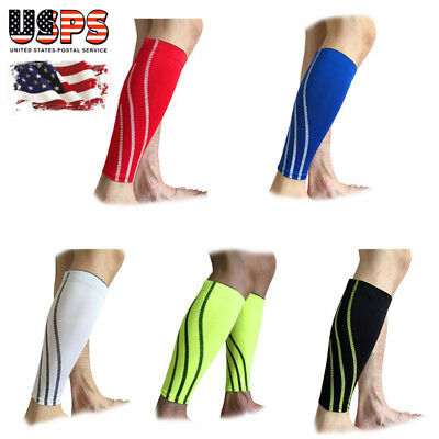 5fd6eb9ade 1 Pair Outdoor Sport Leg Calf Support Stretch Sleeve Graduate Compression  Socks