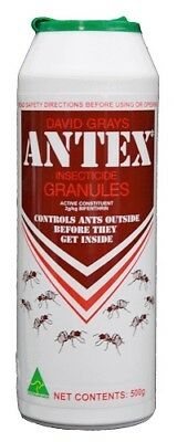 Antex Ant Killer Control Insect Granules 500g David Gray