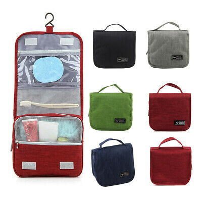 Toiletry Case Wash Organizer Storage Travel Makeup Cosmetic Pouch Hanging Bag