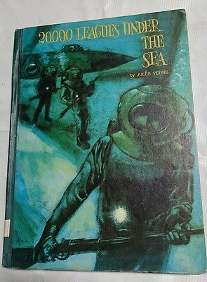 Jules Verne 20000 Leagues Under the Sea  Platt & Munk 1965 Hardcover