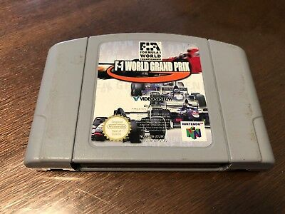F-1 World Grand Prix PAL Nintendo 64 Game *Cartridge only* GC FAST POST F1