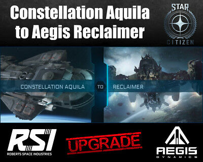 Star Citizen CCU Ship Upgrade - Constellation Aquila to Aegis Reclaimer