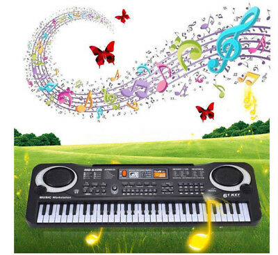 New 61 Keys Digital Music Electronic Keyboard Key Board Electric Piano Gift Toy
