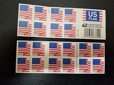 Book of 20 USA Forever Stamps 2018 NEW USPS Self-Stick  FREE SHIPPING
