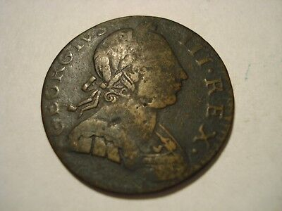 Great  Britain  1/2  Penny    1775
