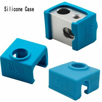 DIY 3D Printer MK7/8/9/10 Silicone Socks Warm Keeping Cover Insulation Case