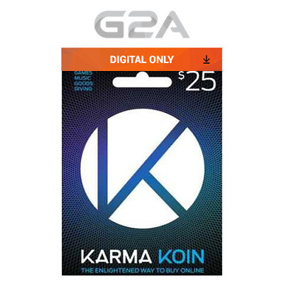 Karma Koin 25 USD Prepaid Card Digital Code 25 Dollars BUY ONLINE 25$ [US]
