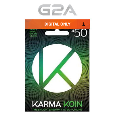 Karma Koin 50 USD Prepaid Card Digital Code 50 Dollars  50$ BUY ONLINE [US]