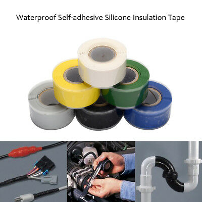Electrical Cables Connections Waterproof Self-adhesive Silicone Rubber Tape V4R3
