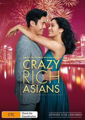 Crazy Rich Asians  [Region 4] - DVD - New - Free Shipping.