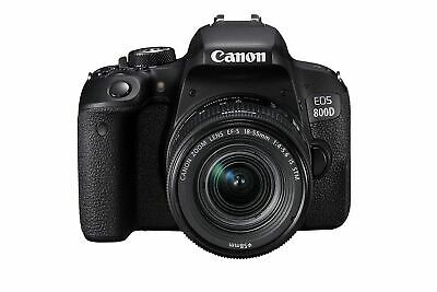 CANON EOS 800D DSLR Camera with EF-S 18-55 mm f/4-5.6 IS STM Lens -FREE NEXT DAY