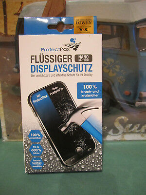 Protect Pax Displayschutz flüssig 4-tlg. Handy Tablet Smarphone DHDL Handy Toll