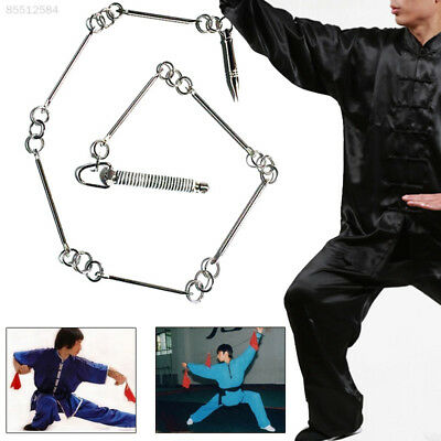 A455 Stainless Steel Wushu Whip Nine Section Whip Metal Whip Seven Section Whip