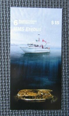 2015 Canada Stamp Booklet (6 Stamps) - HMS Erebus
