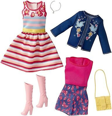 Barbie Fashions Glam Pack. Free Shipping