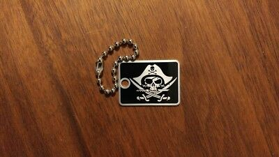 Pirate Travel Tag - Trackable for Geocaching
