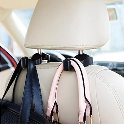 2x Car Back Seat Headrest Hanger Holder Hooks For Bag Purse Cloth Grocery MA