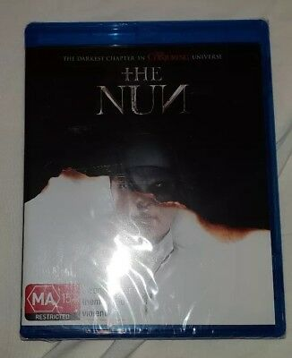 The Nun Blu-ray Bluray Brand New and Sealed Region B