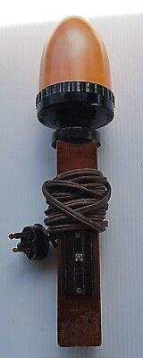 Vintage Kodak Brownie Safelight Lamp Dark Room Working Fine