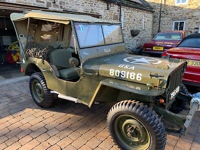WILLYS WW2 JEEP FULLY RESTORED Possible part ex