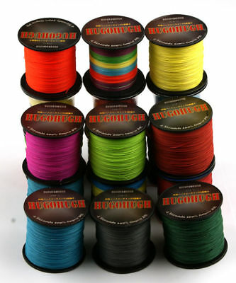 300/1000M Japanese Super Strong PE Braided Fishing Line Multifilament 6-100LB