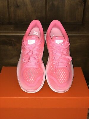 47dce557d69d6 Nike Flex 2017 RN Pink Sunset Pulse Womens Running Shoes Sneakers 898476-601  New