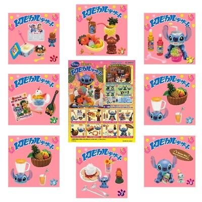Rare 2008 Re-Ment Disney Stitch Tropical Dessert (Each Sell Separately)