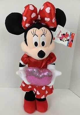 Large Disney Minnie Mouse Valentines Holiday Anniversary Door Greeter Love Heart