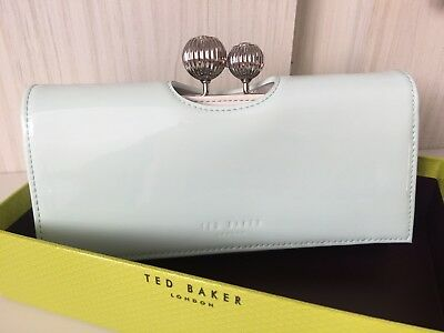 09479235450ccf TED BAKER ETCHED Bobble Leather Matinee Purse BNWTS KIMMIKO Boxed ...