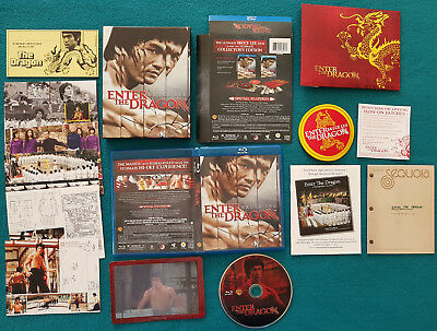 Bruce Lee ENTER THE DRAGON DER MANN MIT DER TODESKRALLE 40th Anniversary Blu-ray