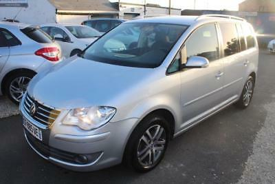 LHD 2008 Volkswagen Touran 1.9TDI ( 105P ) ( 5st ) FRENCH REGISTERED