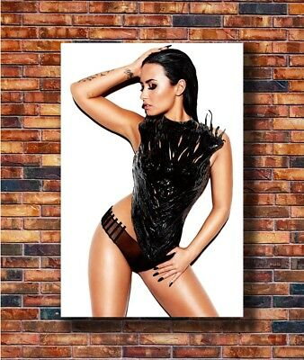 G076 Demi Lovato Pop Top DJ Music Singer Print 20x30 24x36 40in Silk Poster