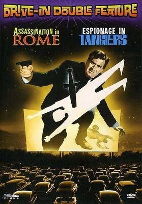 Drive-In Double Feature: Assassination in Rome/Espionage in (DVD Used Like New)