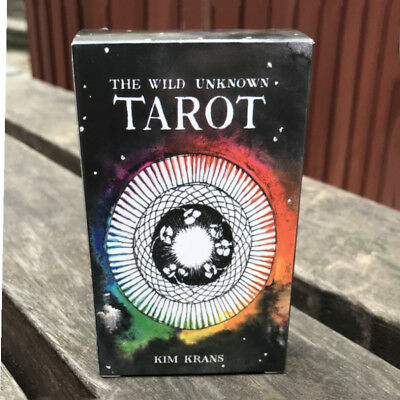 The Wild Unknown Tarot Deck Rider-Waite 78pcs Oracle Set Fortune Telling Cards &