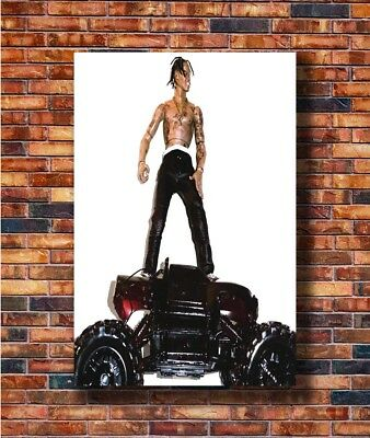 T2679 24x36 Silk Poster Travis Scott Rodeo Hip Hop Trap Music Ablum Art Print